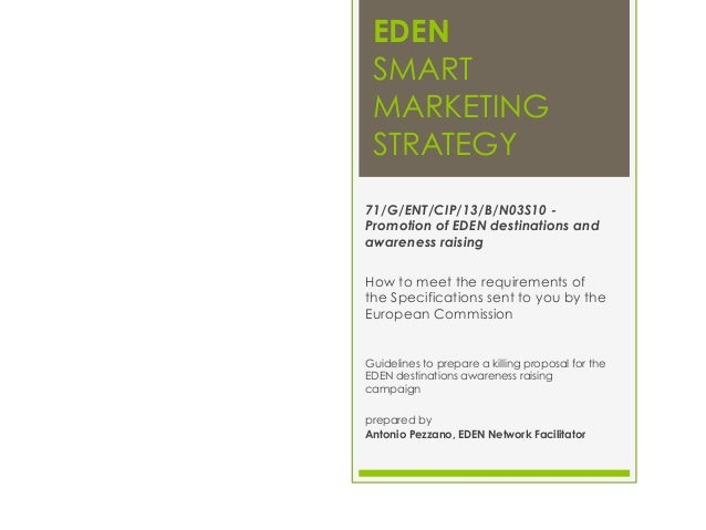 Marketing guidelines for EDEN Project Officers