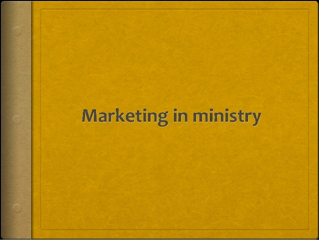 "What is Marketing  Marketing is all about branding – Think about your church as a business. What is the ""business"" of you..."