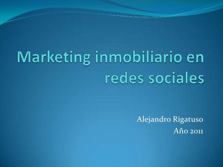 Marketing inmobiliario en redes sociales