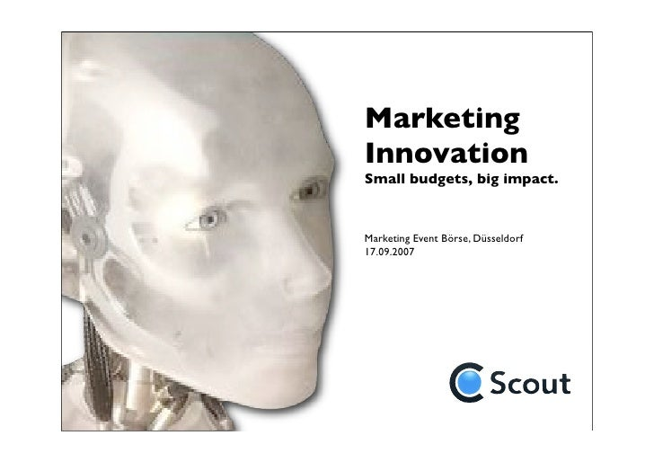 CScout_Marketing Innovation