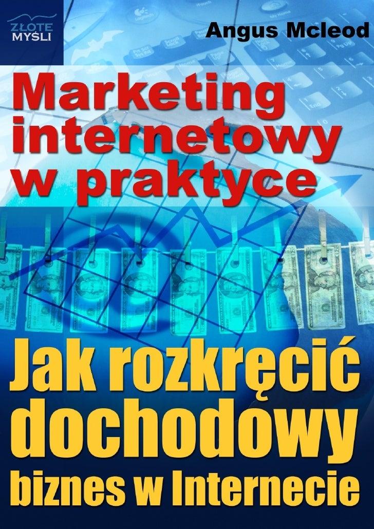 Marketing internetowy w praktyce