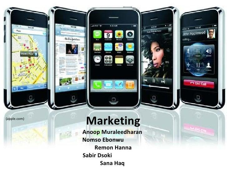 Marketing Anoop Muraleedharan  Nomso Ebonwu  Remon Hanna Sabir Dsoki  Sana Haq  (apple.com)