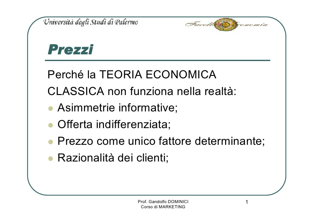 Marketing L15 Prezzo