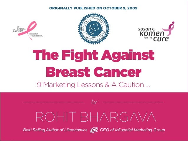 9 Marketing Lessons From The Pink Ribbon Breast Cancer Campaign