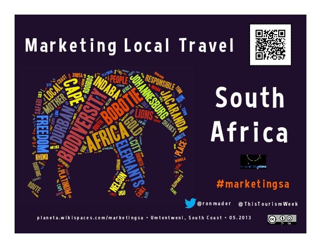 Marketing Local Travel: Social Web Tips for South Africa @thistourismweek @localtravels #MarketingSA