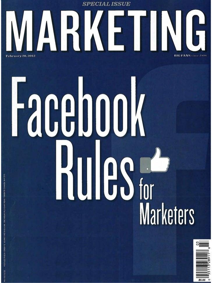 Marketing Magazine - If You Like It Buy It, Facebook Commerce
