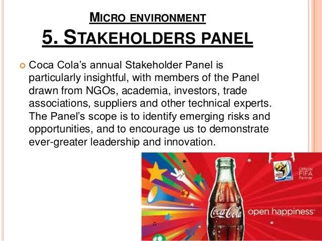 coca colas micro and macro environment essay Macroenvironmental forces affecting marketing macro & micro marketing planning & strategies [important marketing environment concepts.