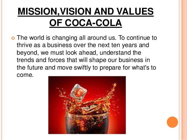 coca cola microenvironment Coca-cola rank: 57 forbes rank: 79 current ceo: muhtar kent founded: 1892  products: beverages country: united states sales: $4802 b.