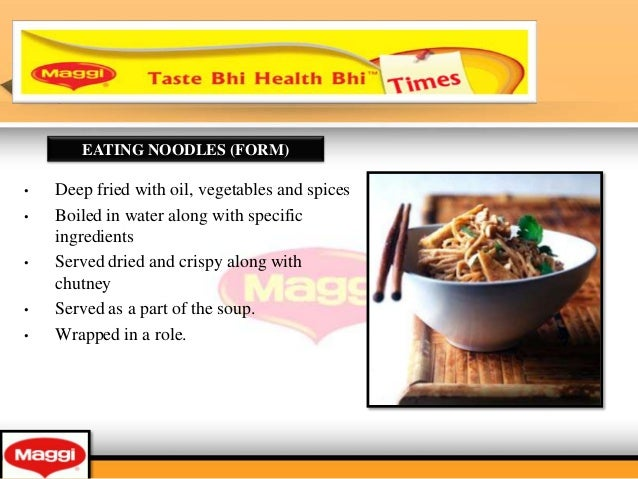 There is so much marketing to learn from Maggi