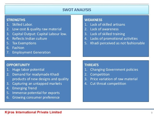 swot analysis of gul ahmed Corporate intelligence on gul ahmed the strategic analysis is intended to give an extremely far reaching strategic analysis of gul ahmed textiles and.