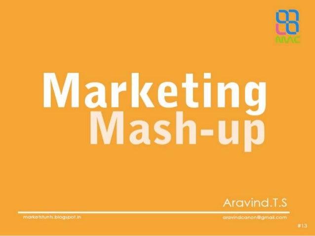 Marketing mashup