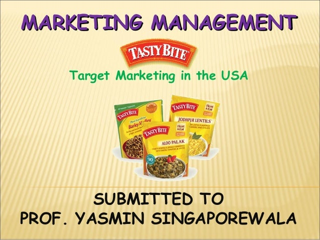 Marketing mgt. gp no 3