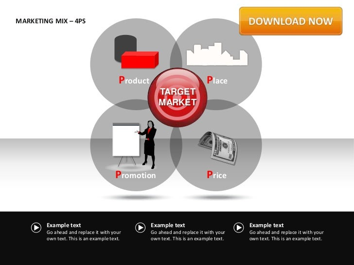 MARKETING MIX – 4PS                                         Product                            Place                      ...
