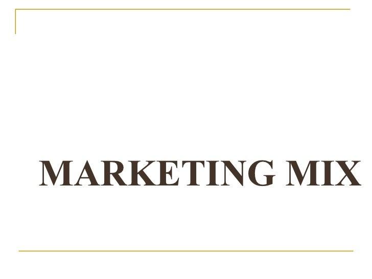 Marketing Mix8feb2010