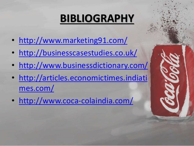 coca cola marketing mix The marketing plan also covers the current position of the business, its target market and a set of marketing tools or marketing mix that business will use to achieve marketing objectives article information: this step-by-step guide covers all aspects of the marketing plan with a coca-cola example.
