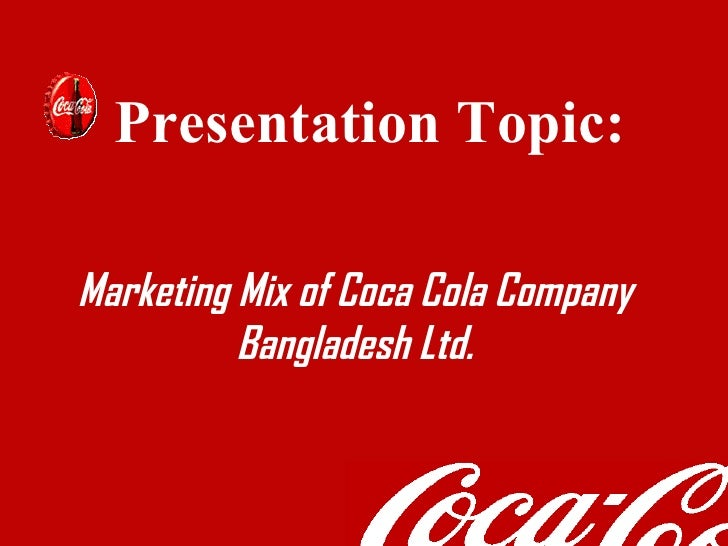 coca cola 7ps of marketing Pepsico's marketing mix or 4ps (product, place, promotion, and price) are shown in this case study and analysis on marketing plan approaches and objectives.