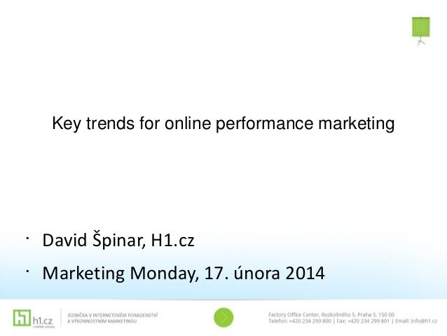 David Špinar: Key trends for online performance marketing