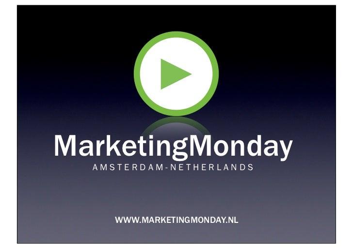 Marketing monday presentatie