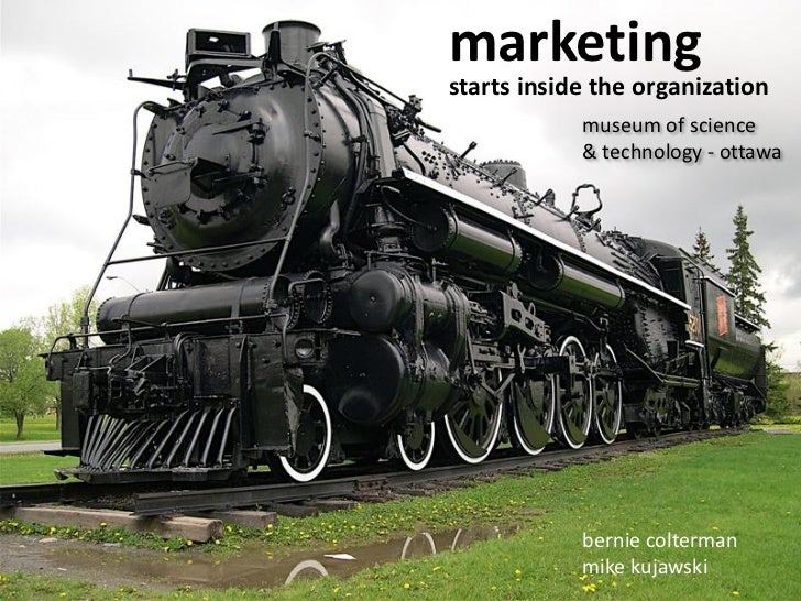 Marketing Starts Inside the Organization