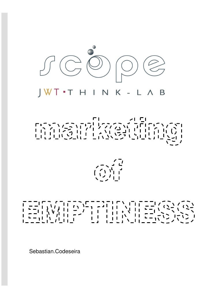 Marketing of Emptiness Eng