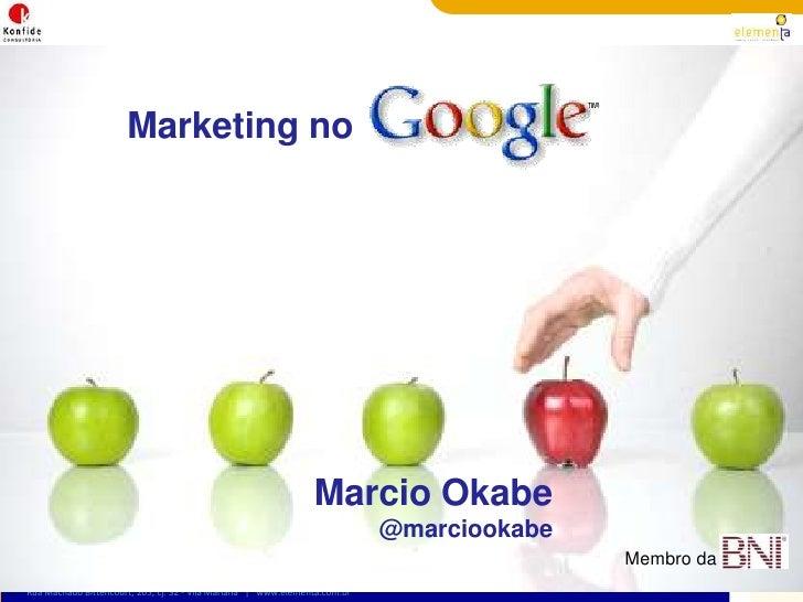 Curso de Marketing no Google - AdWords e SEO