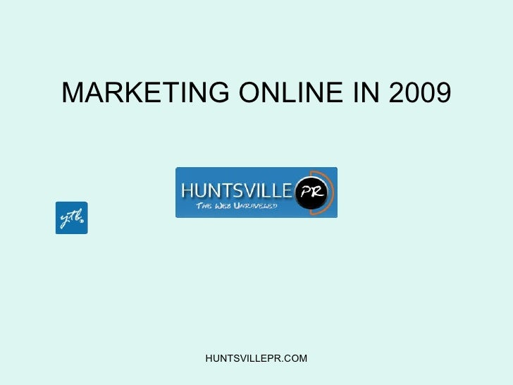 MARKETING ONLINE IN 2010