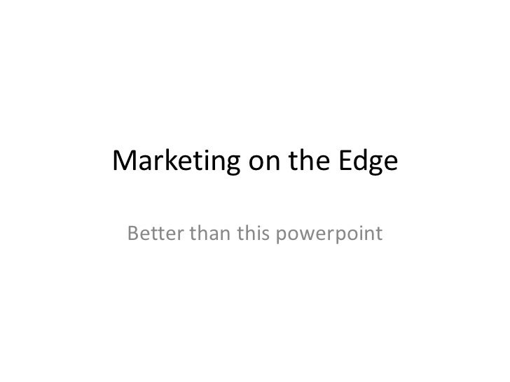 NCompass Live: Marketing on the Edge