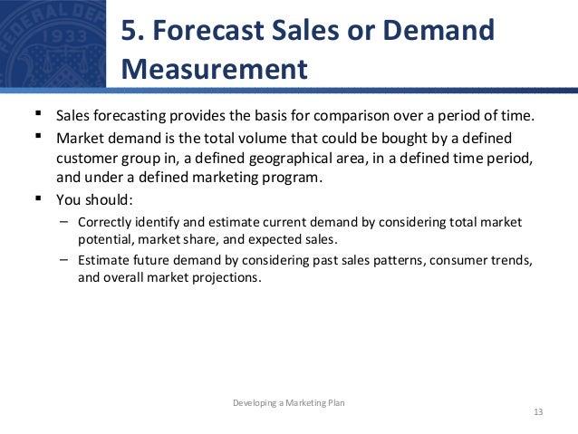 Demand Forecasting Examples Forecast Sales or Demand