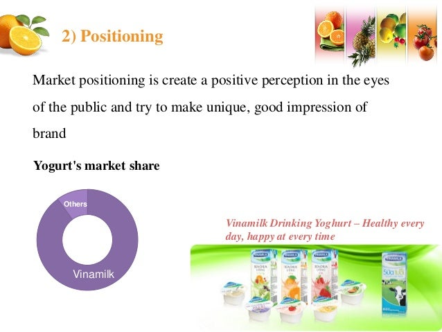 vinamilk marketing analysis Keywords: vinamilk vision, vinamilk mission this report aims to analyse how the strategic operational process and management contributed to the business vision of vinamilk¹ which is becoming the leading milk products manufacturer in vietnam.