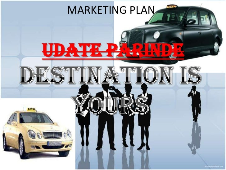 Marketing plan for taxi cab