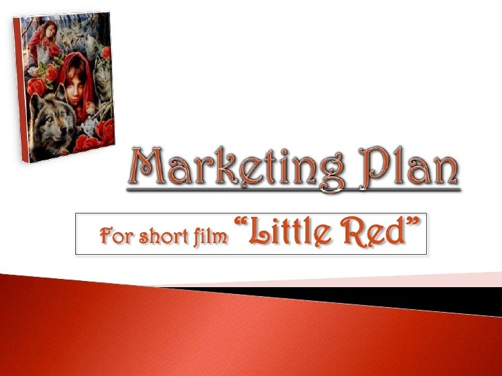"""Marketing plan for media product """"Little Red"""""""