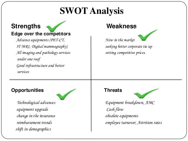 swot analysis for a hospice facility What is a swot analysis it is a way of evaluating the strengths, weaknesses, opportunities, and threats that affect something see wikiwealth's swot tutorial for help  remember, vote up the most important com.