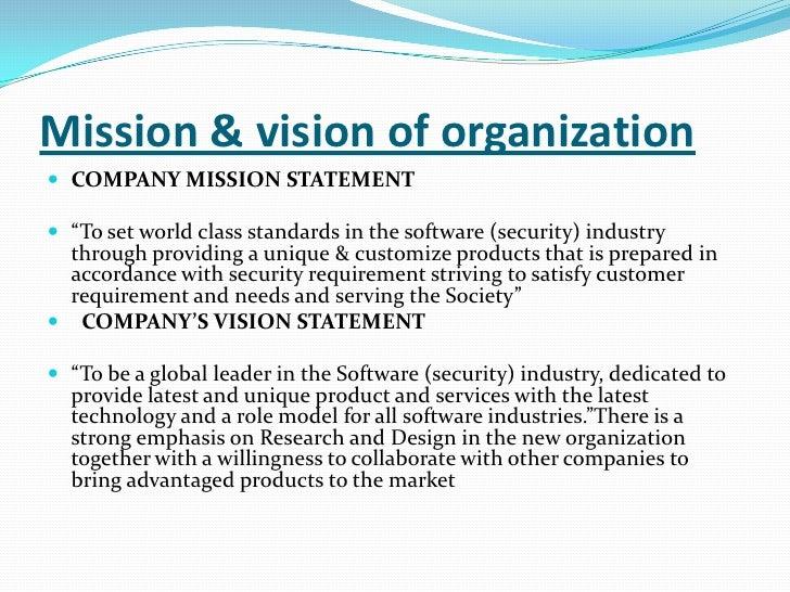 social vision statement