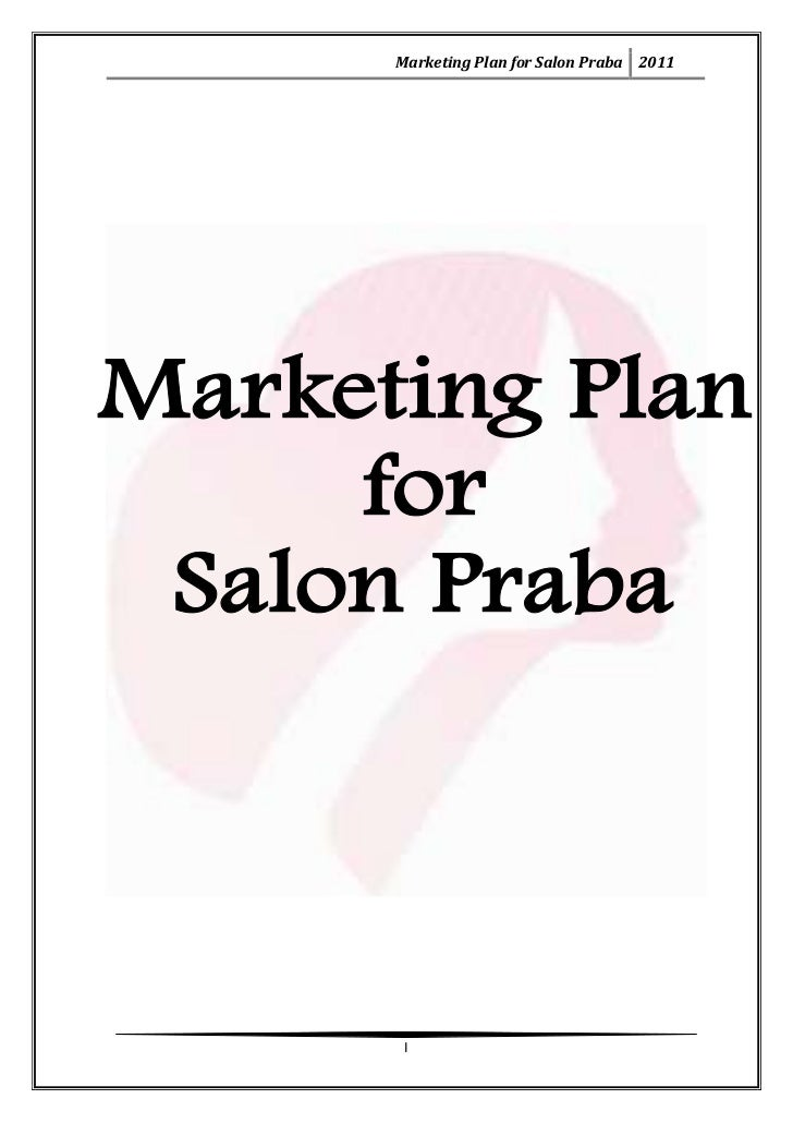 How to write a salon business plan