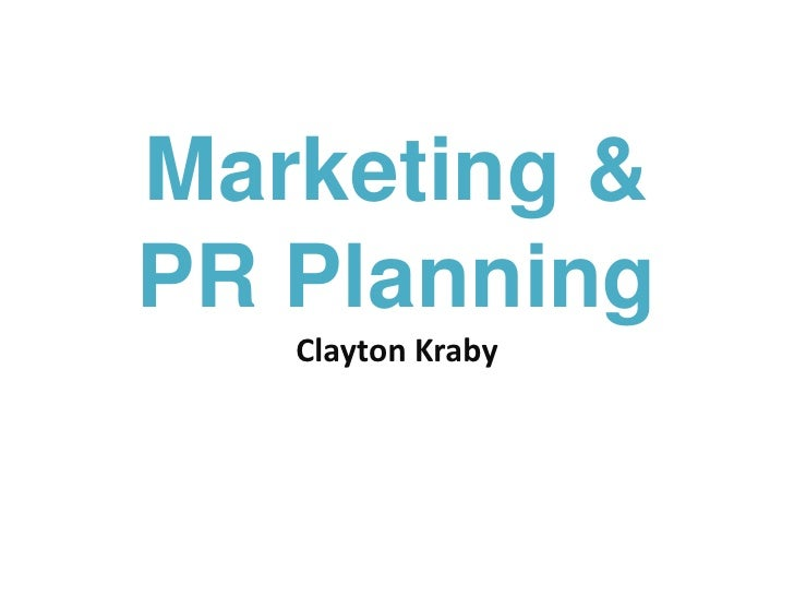 Marketing Planning - Crafting your Message