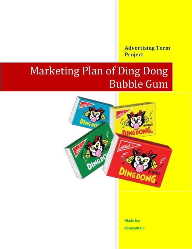 Marketing plan of ding dong