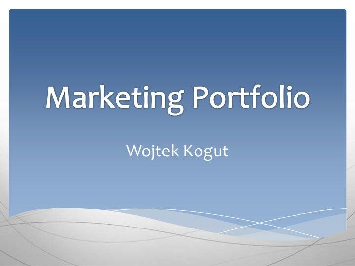 Marketing Portfolio_WK
