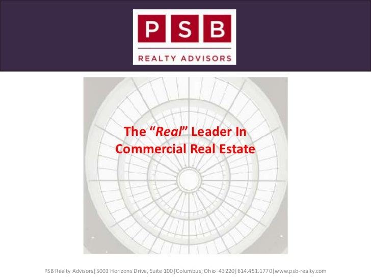 PSB Realty Advisors Services