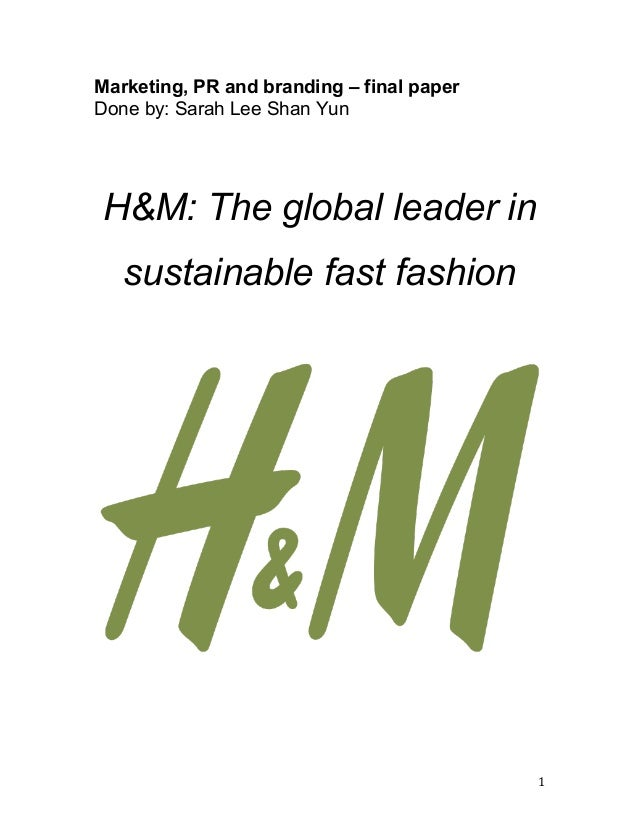 H Amp M The Global Leader In Sustainable Fast Fashion