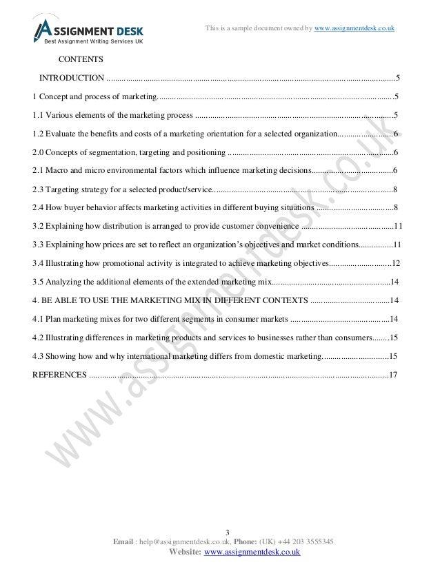 Marketing homework help, 10 pointsss!?