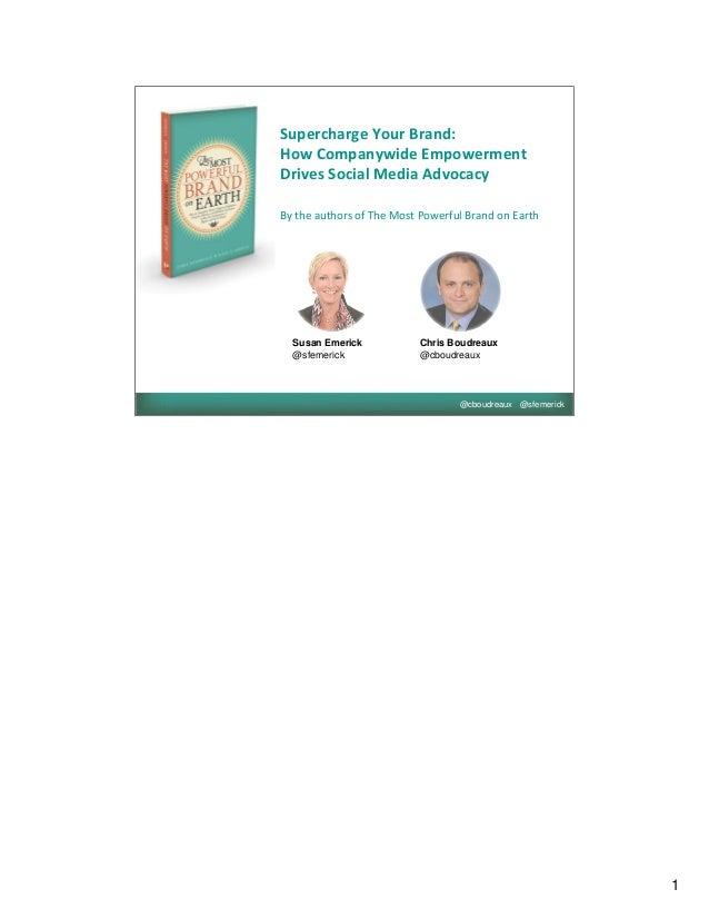 Marketing profs webinar-2013_mostpowerfulbrand_vslideshare