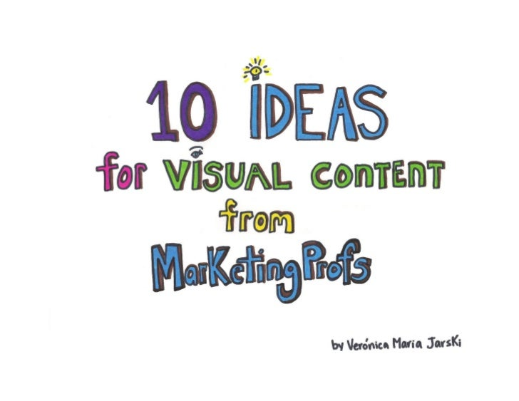 10 Ideas for Creating Visual Content