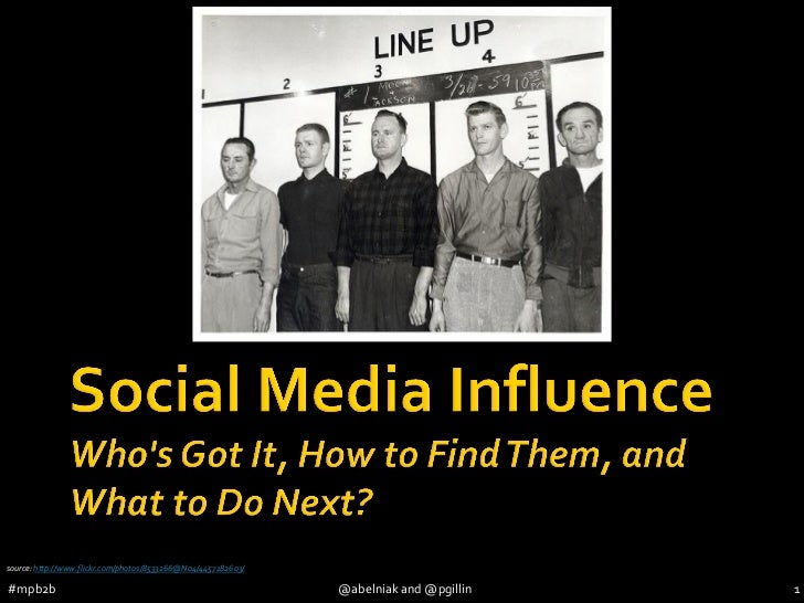 MarketingProfs B2B 2012 (#mpb2b) - Social Media Influence - Alan Belniak - Paul Gillin