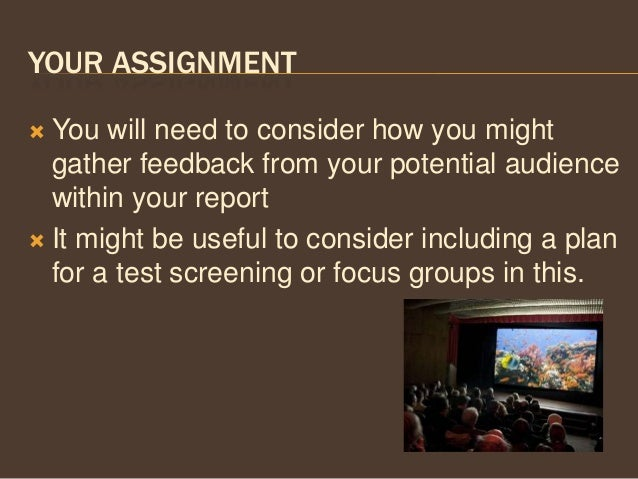 Film studies assignment help!!?