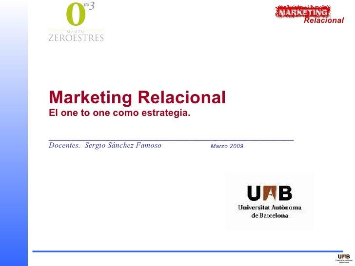 Marketing Relacional Dosie Ralumnos