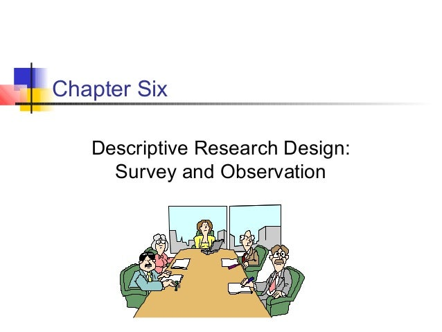 Chapter Six Descriptive Research Design: Survey and Observation