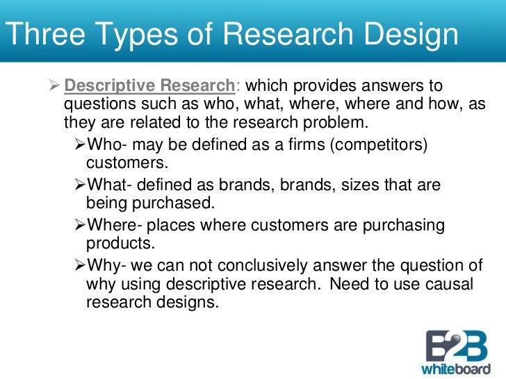 dissertation research design types