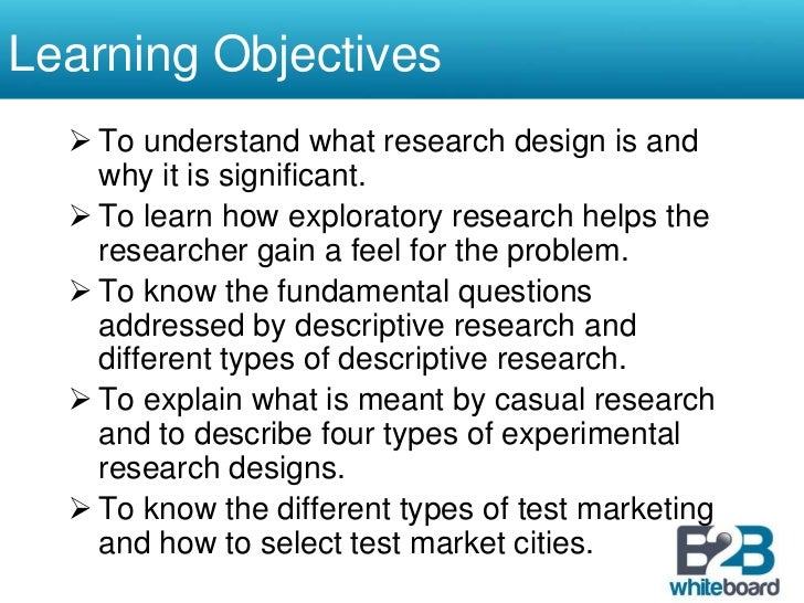 market research objectives examples Marketing research vs market research these terms often are used interchangeably, but technically there is a difference market research deals specifically with the gathering of information about a market's size and trends.