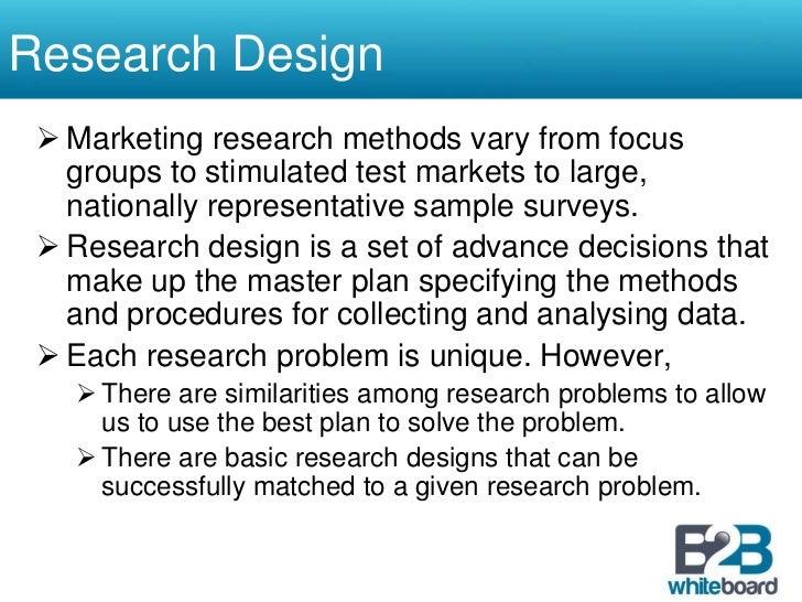 advance marketing research essay