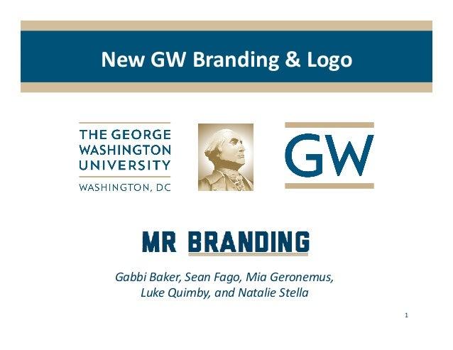 Marketing Research: New GW Logo & Branding